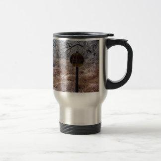 Icy Petroleum Pipeline Warning Mug