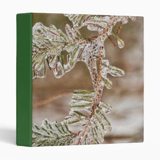 Icy Pine Needles Binder