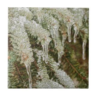 Icy Pine Needles Tile