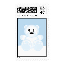 Icy Polar Bear Postage