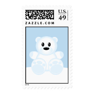 Icy Polar Bear Stamps