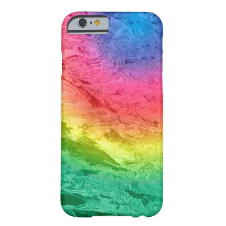 Icy Rainbow Abstract Barely There iPhone 6 Case