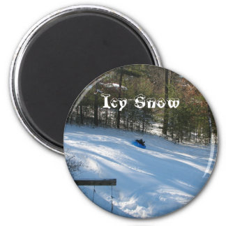Icy Snow Magnet