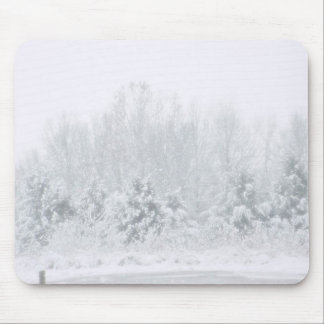 Icy Snow Mouse Pad