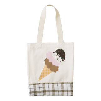 Icy Sweetness Zazzle HEART Tote Bag