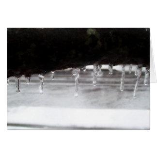 Icy Tree Card