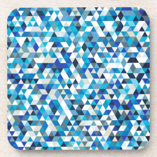 icy triangles beverage coasters