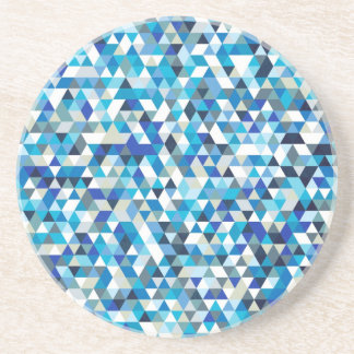 icy triangles drink coasters