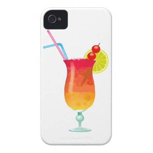 Icy Tropical Rum Punch iPhone 4 Cover