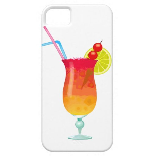 Icy Tropical Rum Punch iPhone 5 Cover