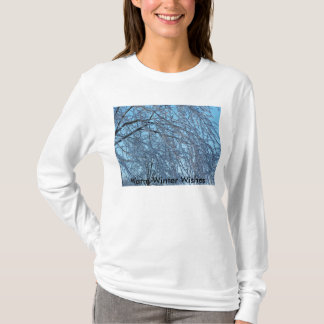 Icy Veil, Warm Winter Wishes T-Shirt