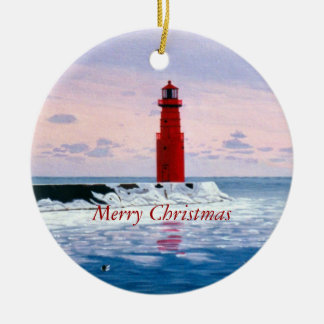 Icy Waters Christmas Ornament