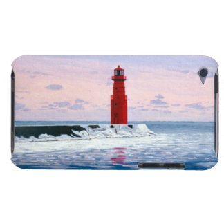 Icy Waters Lighthouse IPod Touch Case