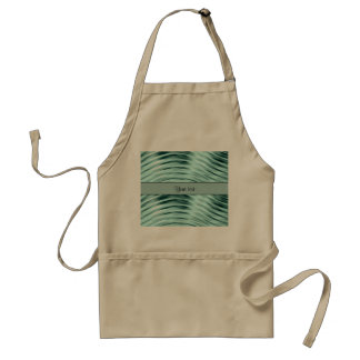 Icy Waves Adult Apron