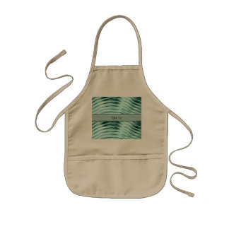 Icy Waves Kids' Apron
