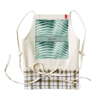 Icy Waves Zazzle HEART Apron