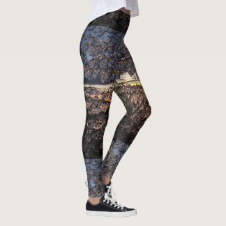 Icy Window Fire Lookout Leggings