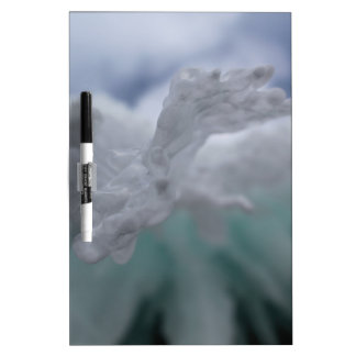 Icy Winter Dry-Erase Board
