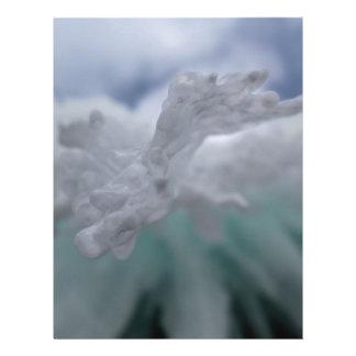 Icy Winter Letterhead