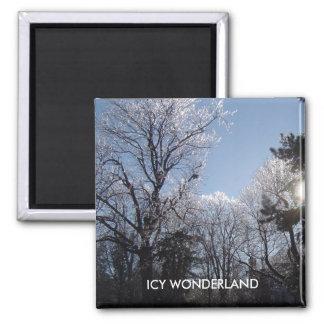 ICY WONDERLAND 4 seasons magnet