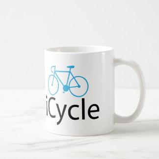 iCycle blue bike Coffee Mug