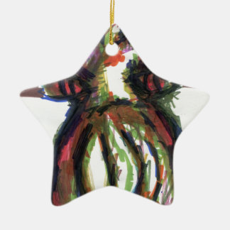 Id Crawled Out Of Me Ceramic Ornament