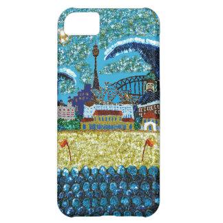 ID/Credit Card iPhone 5 | Luna Bondi | Sequin Art iPhone 5C Cover
