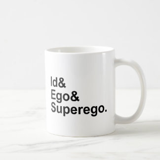 Id Ego Superego | Three Parts of the Psyche Coffee Mug