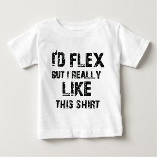 I'd flex but I really like this shirt