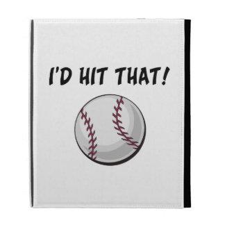 I'd Hit That Baseball iPad Folio Cases