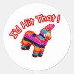 ID HIT THAT funny Pinata Sticker