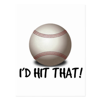 I'd Hit That! Postcard