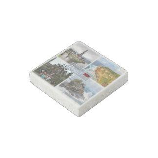 ID Indonesia - Bali- Kuta - Stone Magnet