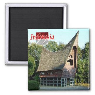 ID - Indonesia - Batak Toba House Magnet