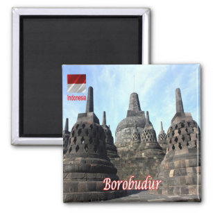 ID - Indonesia - Borobudur Magnet