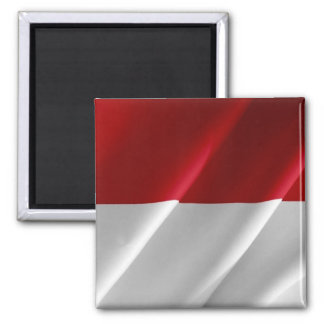 ID - Indonesia - Waving Flag Magnet