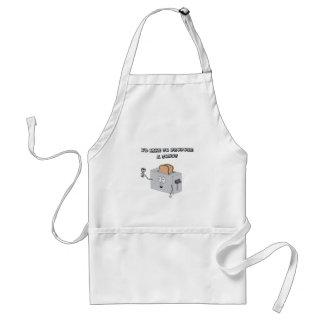 I'd like to propose a toast adult apron
