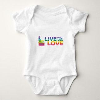 ID Live Let Love Baby Bodysuit