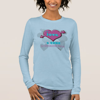 I'd Love a cure CUSTOMIZABLE to any text Long Sleeve T-Shirt