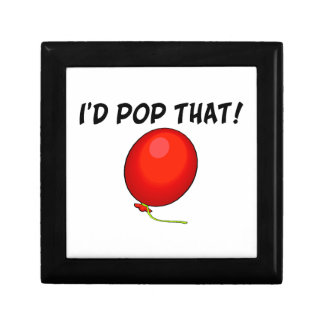 I'd Pop That Balloon Jewelry Box