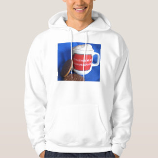 I'd rather be 40 than pregnant hoodie