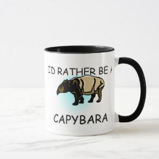 I'd Rather Be A Capybara Mug