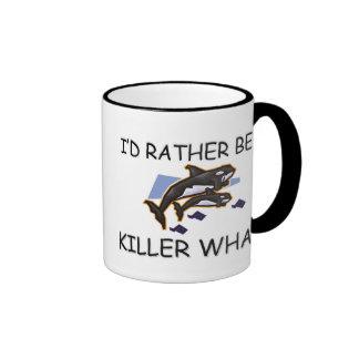 I'd Rather Be A Killer Whale Coffee Mug
