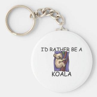 I'd Rather Be A Koala Key Chains