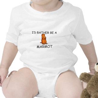 I'd Rather Be A Marmot T-shirts