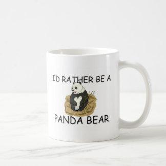 I'd Rather Be A Panda Bear Coffee Mug