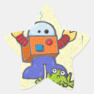 I'd Rather Be A Robot Sticker 2