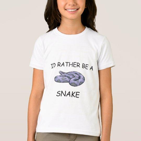 I'd Rather Be A Snake T-Shirt
