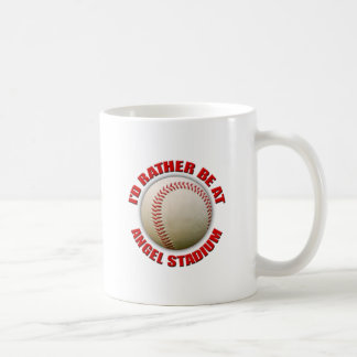 I'd Rather Be at Angel Stadium Coffee Mug