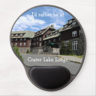 I'd rather be at Crater Lake Lodge Mousepad Gel Mouse Pads